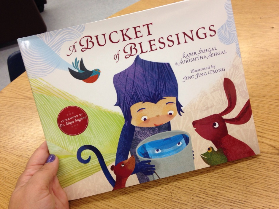 Book Review: A Bucket of Blessings – Marianna Frances