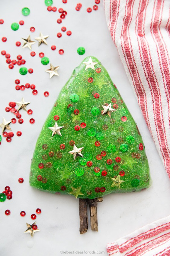 Christmas-Tree-Slime