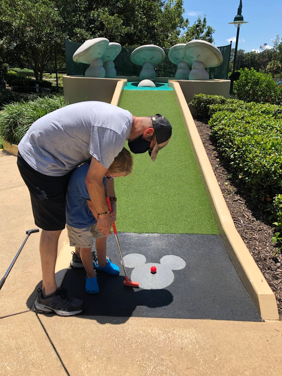 Fantasia Gardens Mini Golf At Walt Disney World A Disney Day Without Going To The Parks This Florida Mom